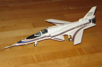 Name: x29-08.jpg Views: 2049 Size: 67.5 KB Description: Here's a 1/72nd scale plastic model of the X-29 that I built way back in the early 90's.  This is the paint scheme I chose to duplicate.