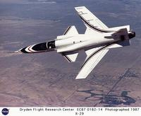 Name: x-29-EC87-0182.jpg Views: 1913 Size: 106.1 KB Description: The real X-29 showing off it's forward-swept wing