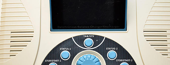 The navigation buttons and dial.