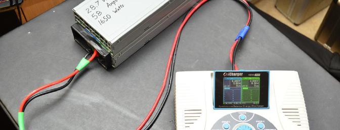 My 28.7v power supply.