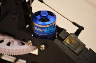 The E-Flite 420 Brushless Motor