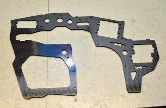 Carbon Fiber Side Frame