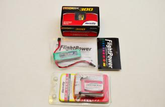 The Motor and Batteries for the Outdoor Setup