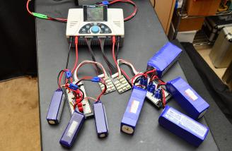 Typical parallel charging setup.