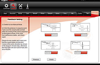 The feedback tab.