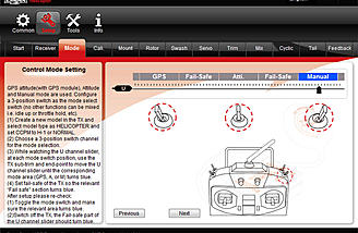 The mode tab.
