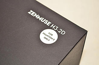 The Phantom 2 specific Zenmuse H3-2D (no controller).