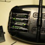 Batteries Installed