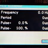 Pulse measurement.