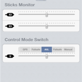 Switch monitor for control mode, X2 and X3 (assignable).
