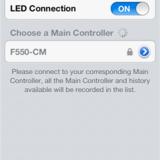 Main controller list.