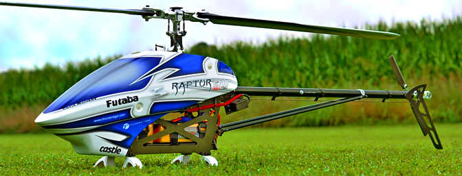 Thunder Tiger Raptor E700