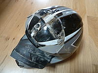 Name: Thor force composite helmet destroyed...jpg