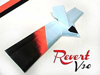 "Name: revert_v30.jpg Views: 45 Size: 21.5 KB Description: The newly redesigned 39"" REVERT 3.0 RC Flying Wing Plank made from flat 6mm foam."