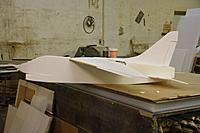 Name: IMG_8820.JPG Views: 45 Size: 99.9 KB Description: Wing sheeted on top with 2mm depron.