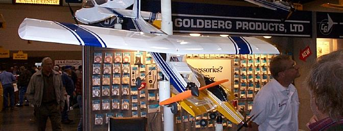 Goldberg had a broad range of models in their booth, including a 30% Ultimate ARF! See the RC Power writeup for details.