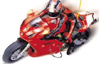 My 1/5 scale ducati photo wasn't clear, but the manufacturer's webpage shot is! Does this look like fun or what? The FM-1e 1/5 scale onroad competition motorcycle, comes RTR. At 17.3