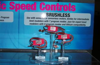 Kontronik's brushless ESCs, now imported by Great Planes.