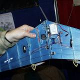 Ingenious mechanical setup provides split rudder behavior simple radio setup. No complex mixing required.