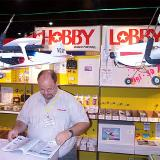 Hobby Lobby's booth, courtesy of Steve Horney.