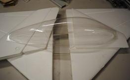 Byron foam parts F-16