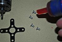 Name: 52- Thread lock mount screws.jpg Views: 174 Size: 208.1 KB Description: 53- Thread lock the motor mount screws.