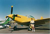 Name: Self and RA Bob Hoover's P51.jpg