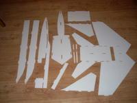 Name: Mig-25_Build_Pics_001.jpg Views: 288 Size: 67.9 KB Description: All parts cut out