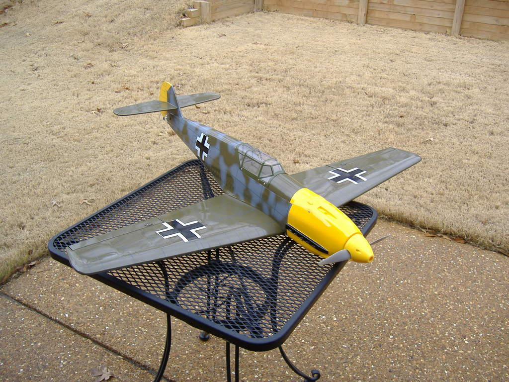 Sig did a great job with this BF-109! It looks very scale, flies great and lands like a cream puff :)