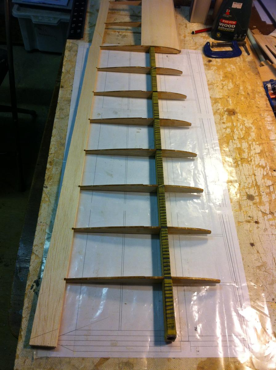 Trailing edge attached