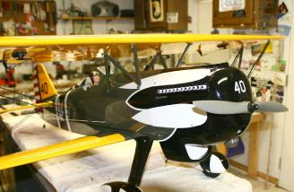 Pilots right side of nose area