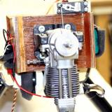 Firewall showing throttle servo on top, glow driver at left, receiver battery on right (note the heavy gauge wire to protect from voltage drop) and glow battery on bottom. (I did use all that space, didn�t I?)