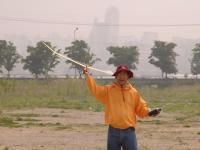Name: rudder glider caught 20May06.jpg