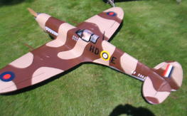 large scale pica spitfire new never flown