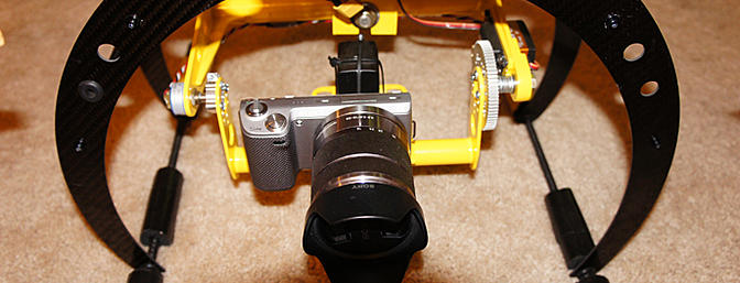 Bullet proof gimbal