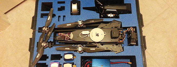 Custom fit case offered by ActionDroneUSA for the AD1. (On my �To get� list!)