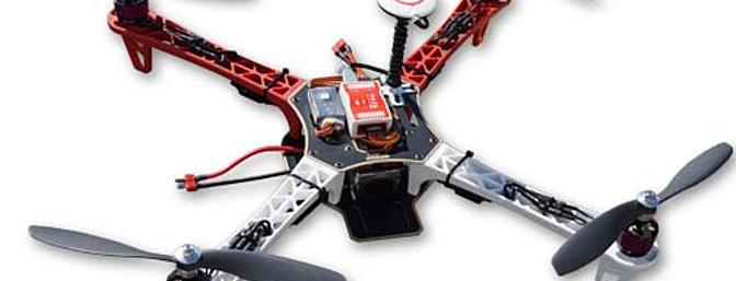 Aero-Model Hand Built/Assembled DJI Flame Wheel F450 QuadCopter Includes