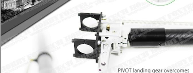 FoxtechFPV Pivot Retractable Multirotor Landing Gear