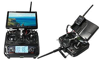 FLYPRO X600  with DEVO 7 and FPV