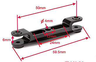 2 blade adaptor measurements