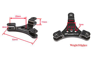 3 blade adaptor measurements