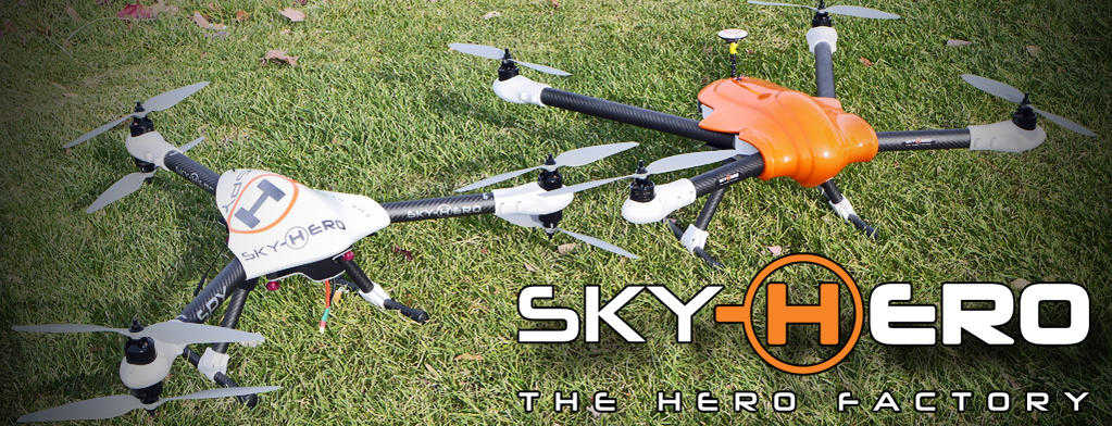 Sky Hero �The Hero factory� Spyder and Spy Multi Rotors