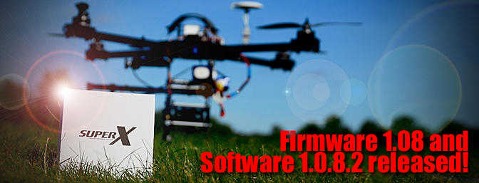 SuperX Firmware 1.08 and Software 1.0.8.2 Released!