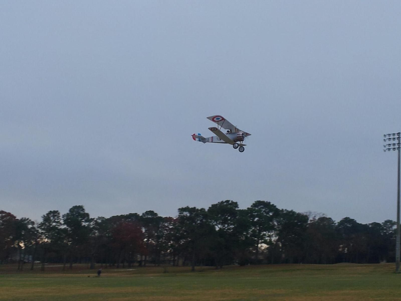 The Nieuport flew very well with it's 2208/17 motor and 7x5 prop.
