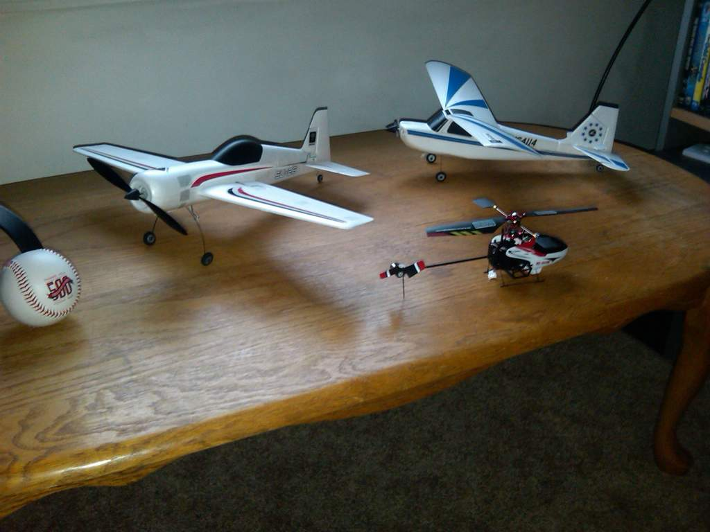 My mini aircraft next to the 500th sold out Red Sox game memento giving out to everyone that attended the game.
