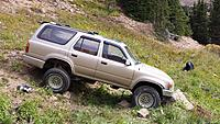 Name: 2014-jones-pass-stuck.jpg Views: 49 Size: 1.07 MB Description: Between a rock and a hard place