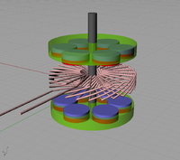 Axial Flux Single Phase Motor Design Rc Groups