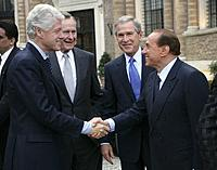 Name: Bill_Clinton,_George_H._W._Bush,_George_W._Bush_and_Silvio_Berlusconi.jpg