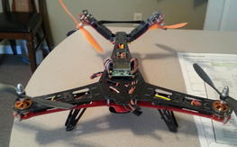 MultiWii V-tail Hunter 400 RX ready