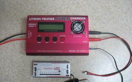 Thunder power 1010C charger and 210-V balancer